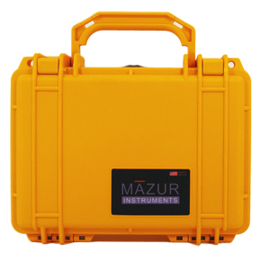 This photo shows the PRM Hard Field Case for PRM-9000, PRM-8000 and PRM-7000 in color YELLOW